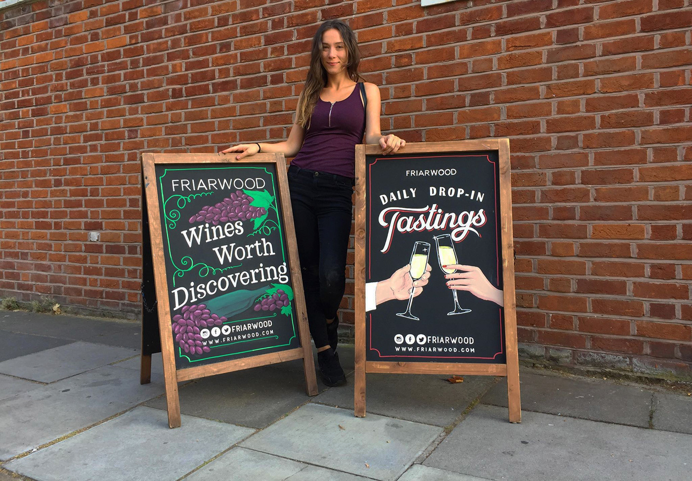 Chalk Boards & Pictorial Signs