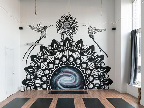 Galaxy Gate Mural