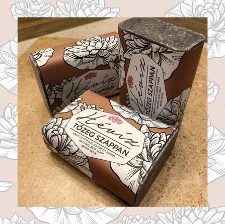 Mud soap package design