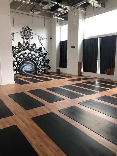 Mandala galaxy mural psy gate 4