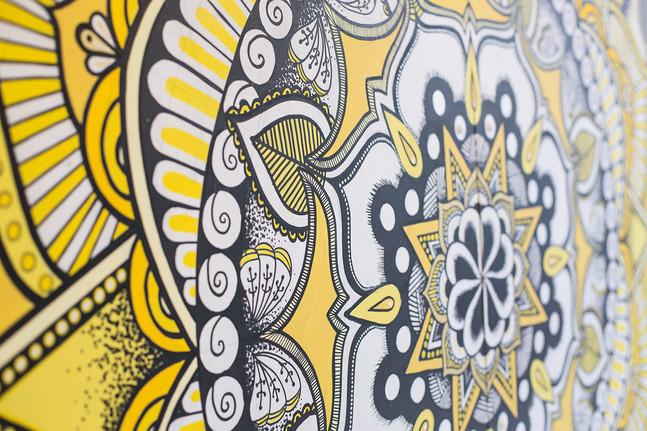 mandala artwork details