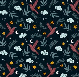 Night Sky Pattern Design