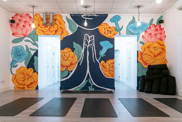 Namaste Mural