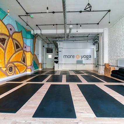 mandala mural yoga