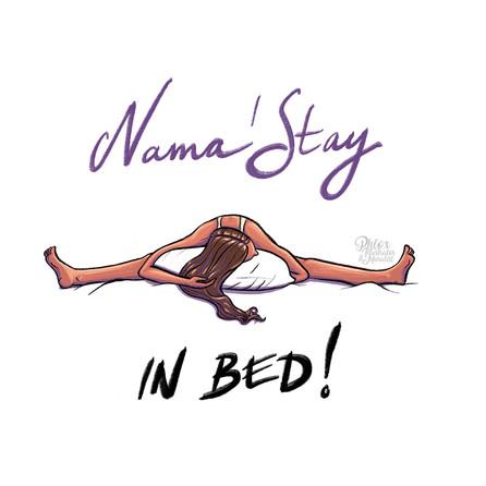Namastay - Illustration in procreate