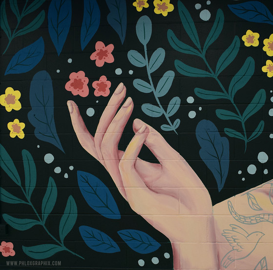 Nymph Mural