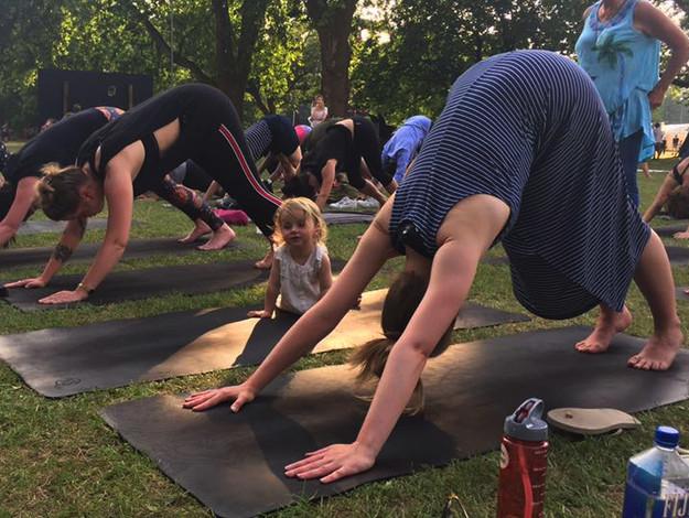 yoga festival all points east children