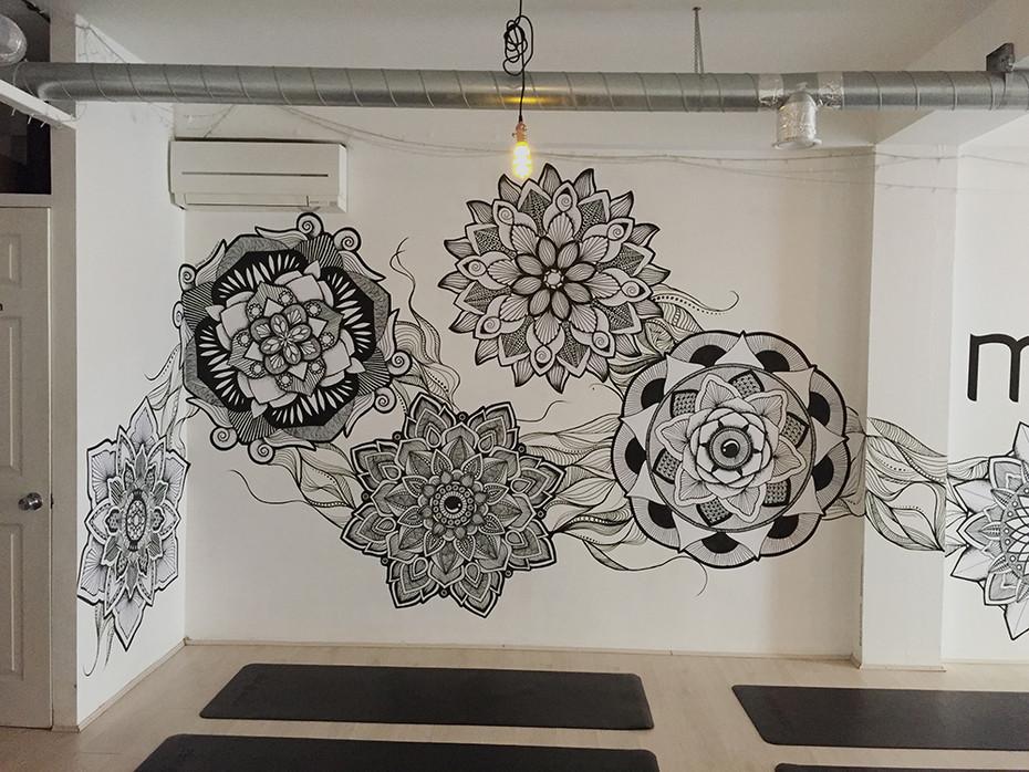 hand drawn mandala wallpaper 7