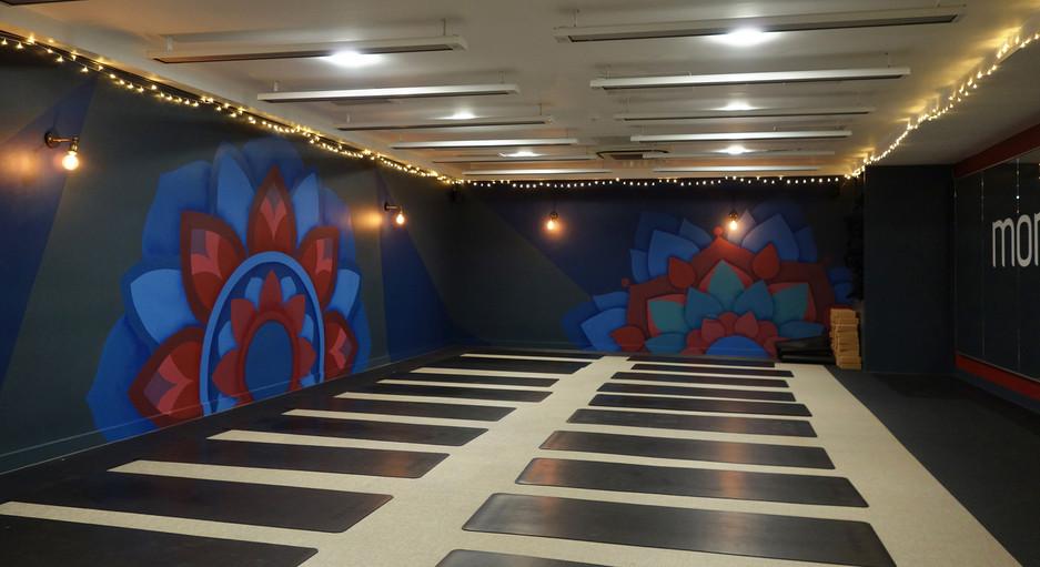 Mandala mural london queens mother sportcentre victoria 3