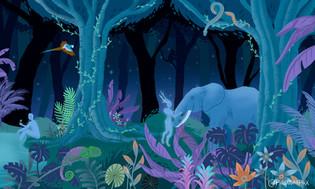 Magic Forest - Digital Illustration