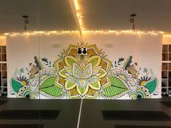 'Reflections Mandala' Mural