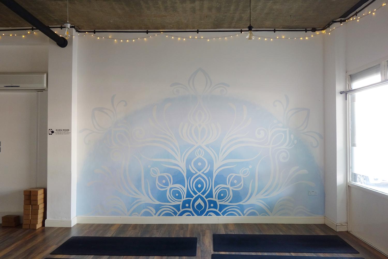 Glowing Style Mandala