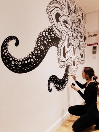 Octopus Mandala 2017