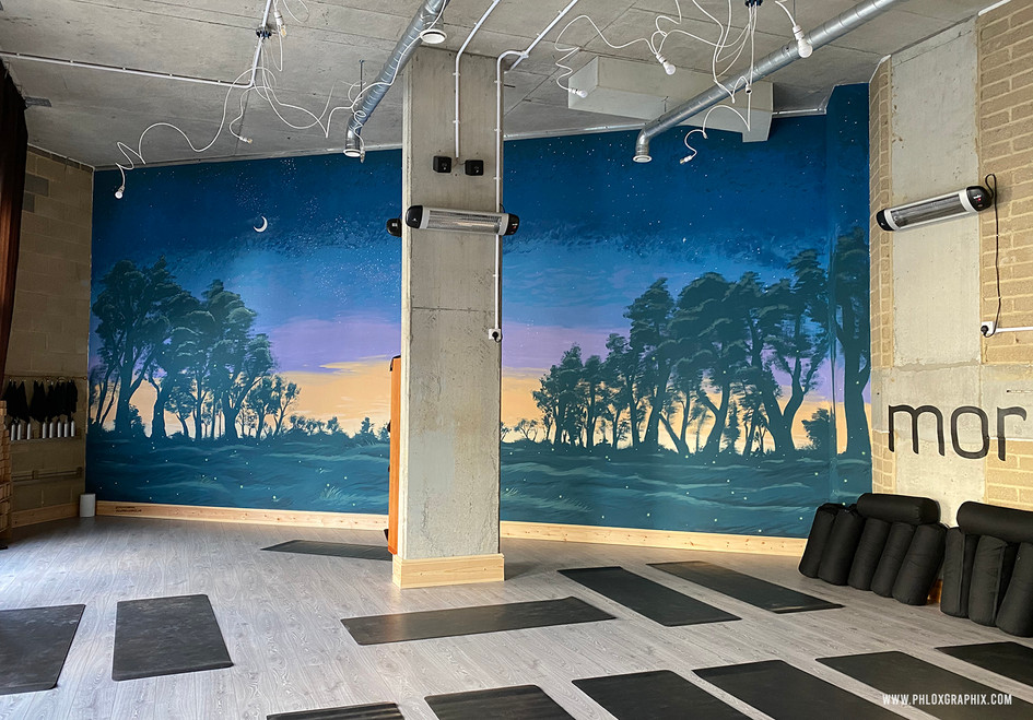 fantasy forest mural william shakespeare mid summer nights dream7