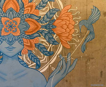 The Blooming Mind Mural