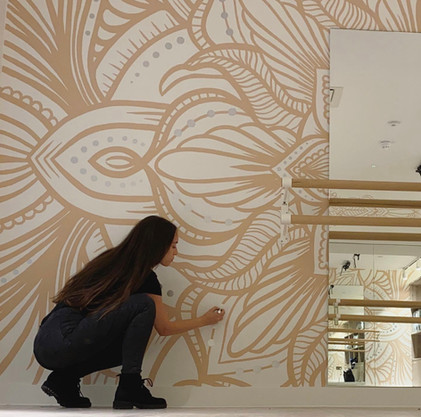 Bold Pattern Mural