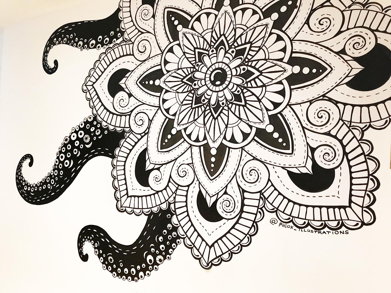 'Octopus' Mandala