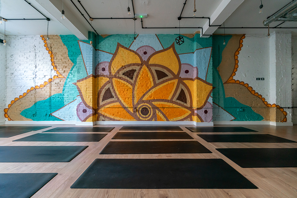 Mandala Mural - Stamford Brook