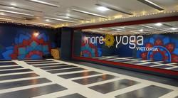 Mandala murals - Victoria studio