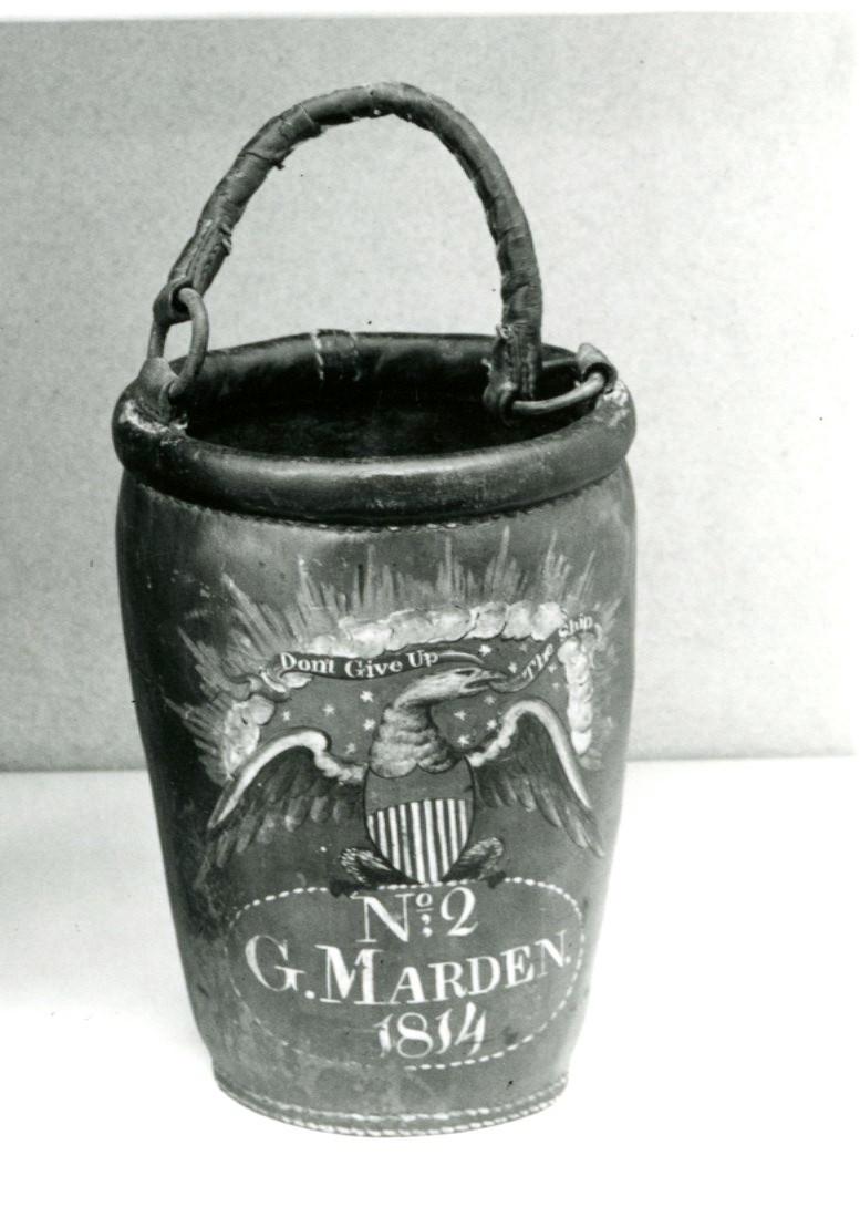 Fire Bucket from 1814