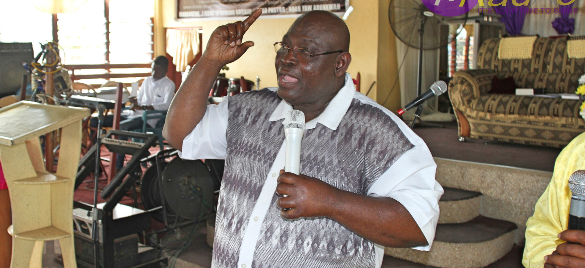 Watch Rev.Dr.Harry S.M Insaidoo speak on blessings