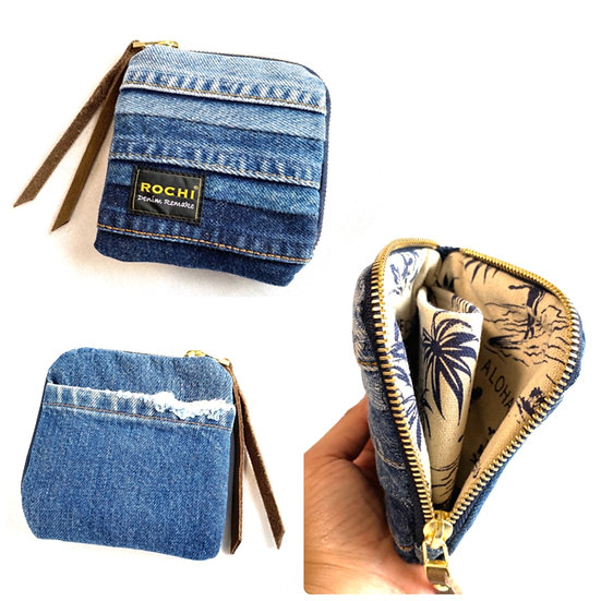 Mini Wallet  (Blue gradation)