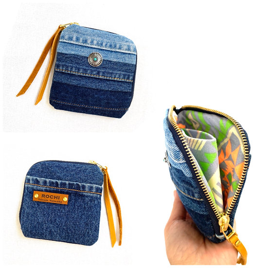 Mini Wallet (Blue Gradation)