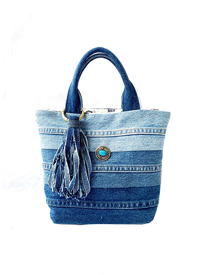 Blue Gradation Tote Sサイズ #6