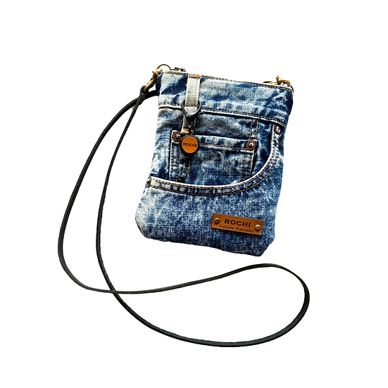 Mini Pouch Shoulder(chemical denim) #9
