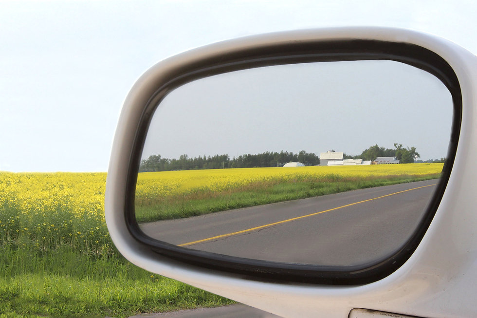 Driving in Prince Edward County