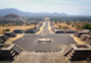 Teotihuacan-View-from-Pyramid-of