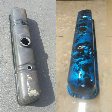 Before & After Holden Rocker cover