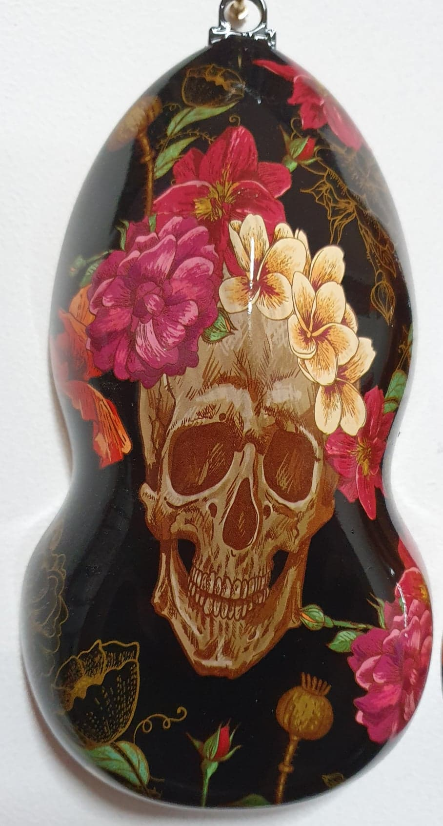 Tropical skull and floral