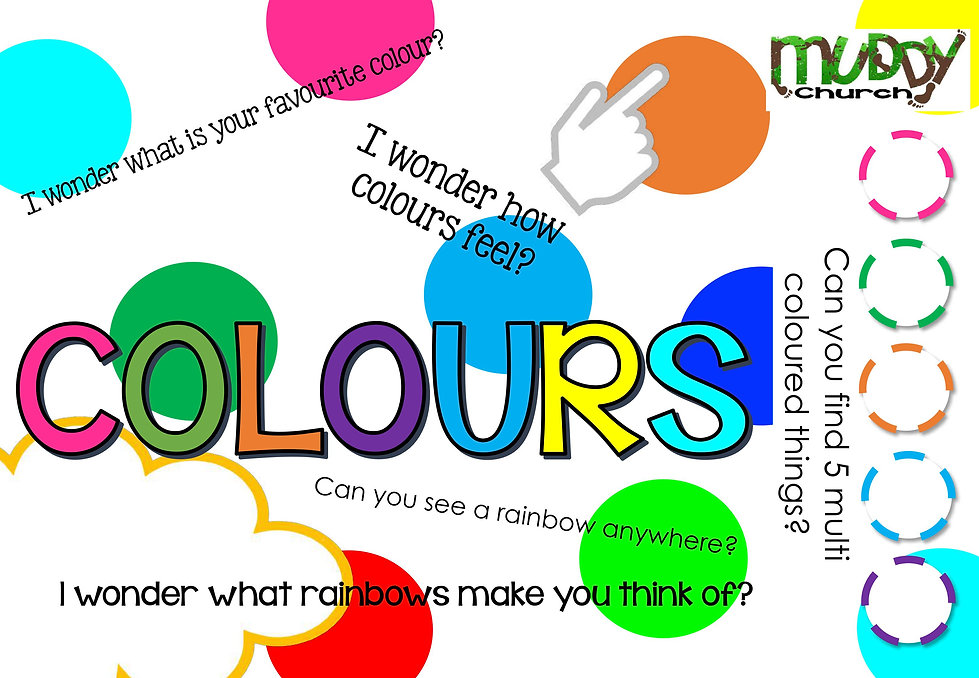 5 Colour Trail - Rainbow
