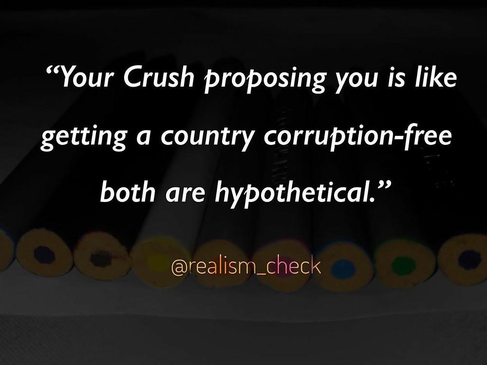 crush meme,crush caption.though about crush,crush wali batey