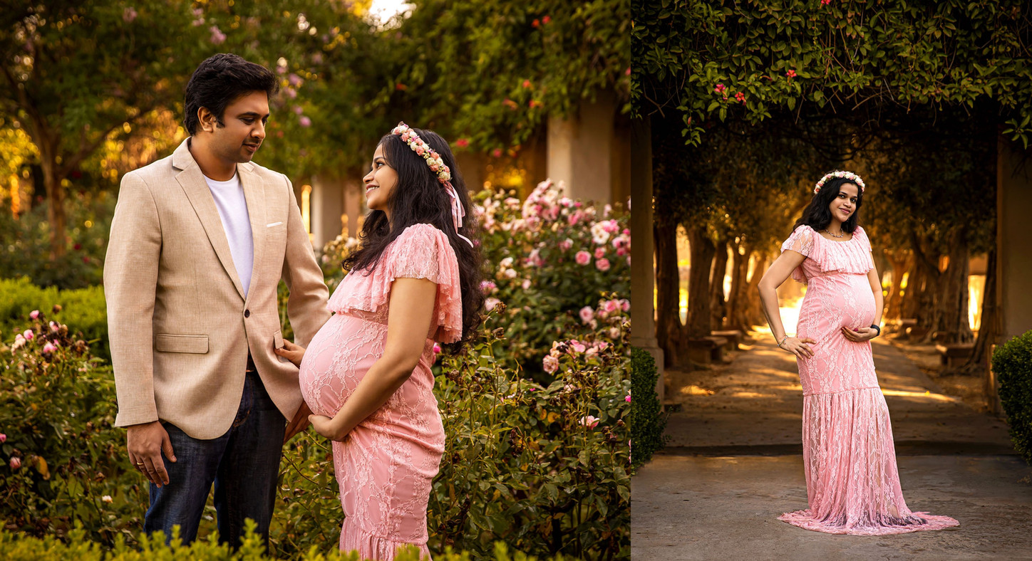 Maternity photography with Husband