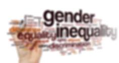 Gender inequality word cloud