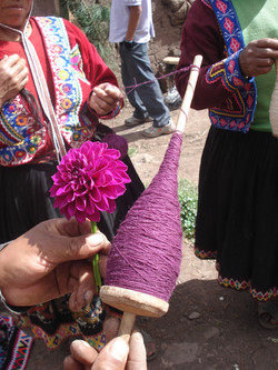 Pushka or hand spindle