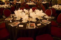 The Crystal Ballroom table