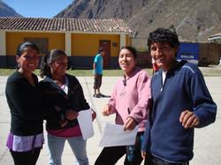 Casa Mosqoy students