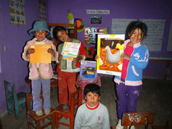 Library opening, youth with books