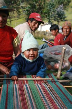 Little Quechua boy