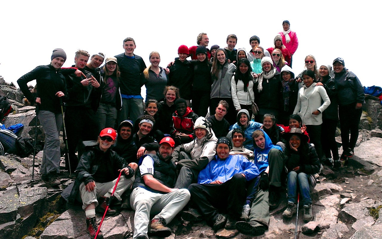 Field School group photo