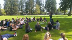Langley Fine Arts students