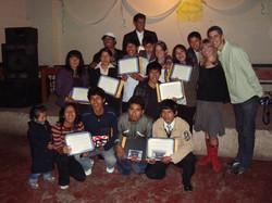 Graduates of T'ikary Youth Program