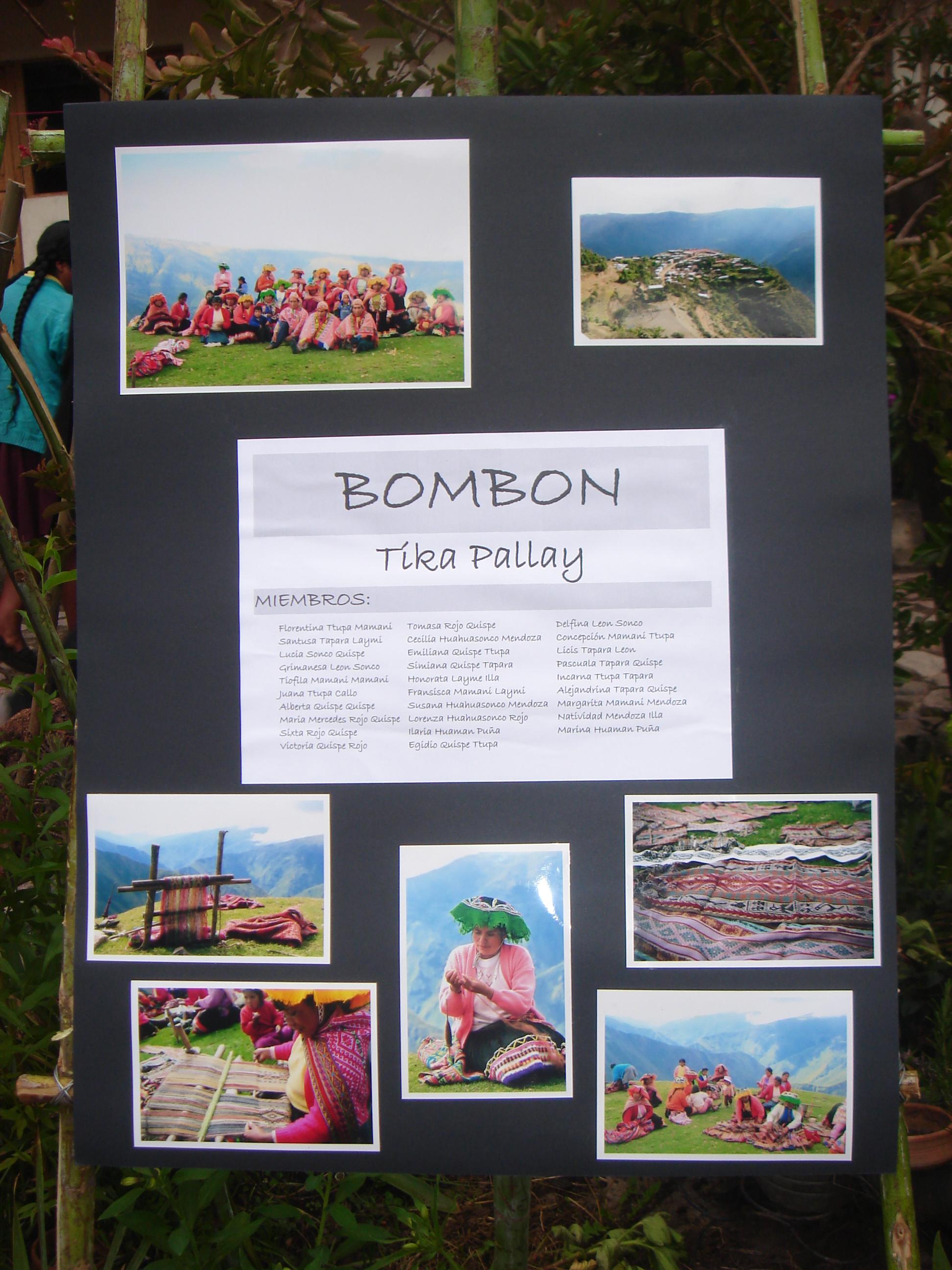 Bombon poster