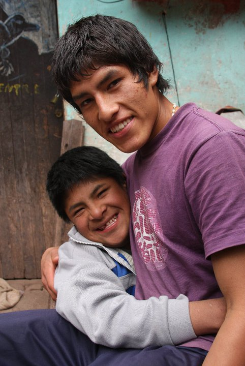 Rolando and his brother