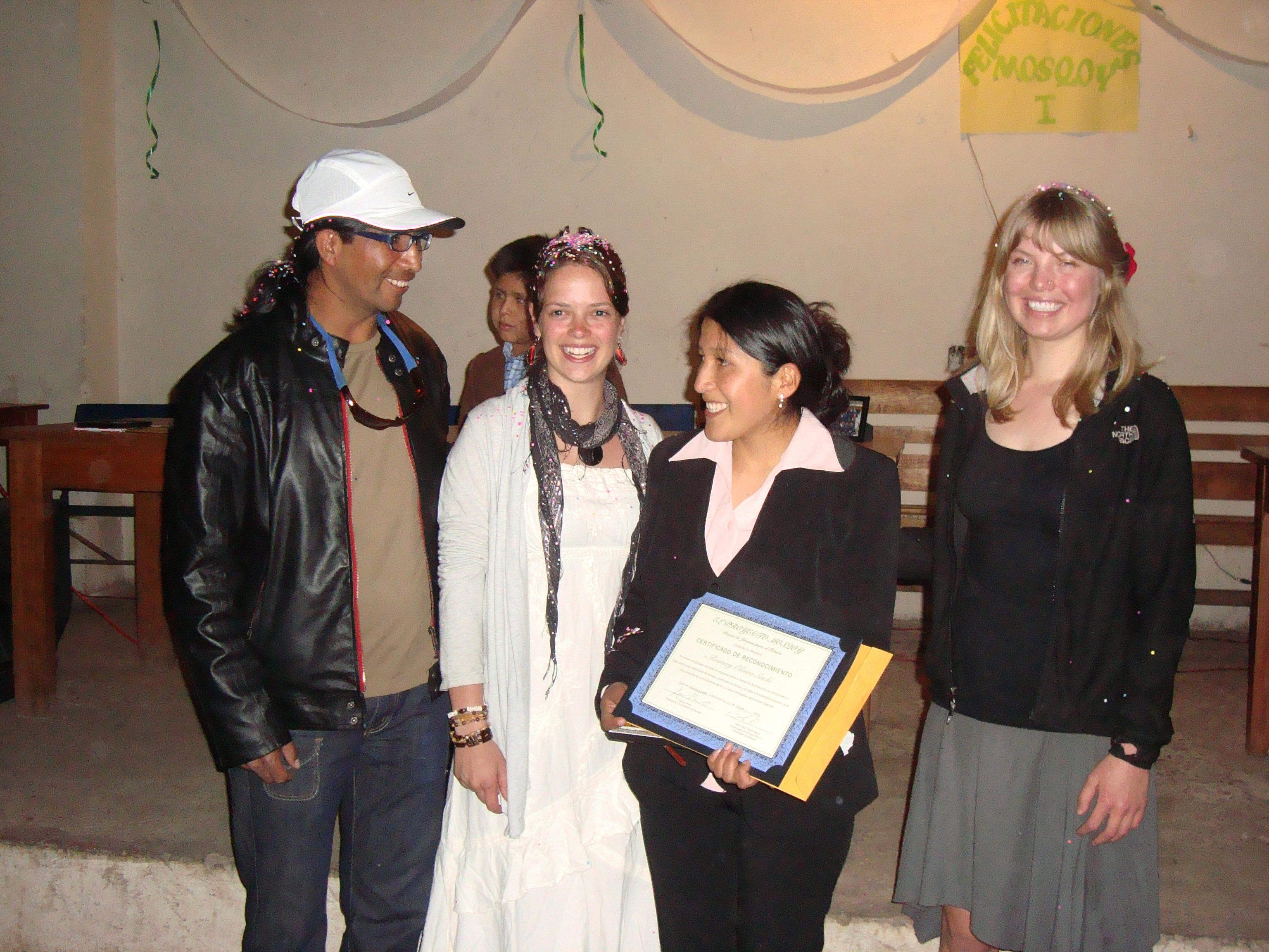 Ashli with Youth Program graduates