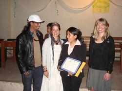 Ashli with Youth Program graduates
