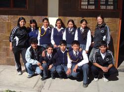 Class photo at Casa Mosqoy